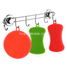Eco-friendly+Soft+Silicone+Dish+Scrubber+for+Cleaning
